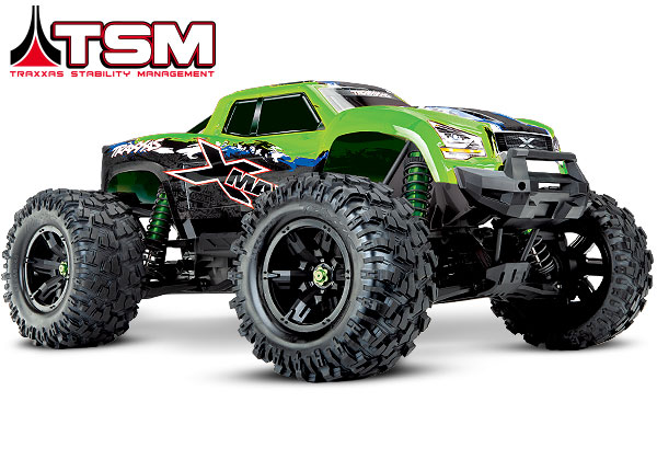 Traxxas - GREEN X-Maxx®with TQi™